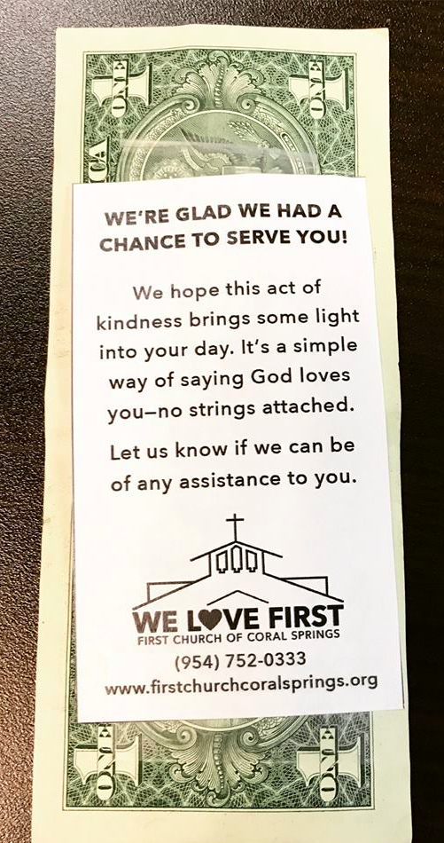 """""""Love Shares"""" – the 4th message in a 5-week sermon series called, """"We Love First,"""" preached on May 21, 2017, at First Church CoralSprings"""